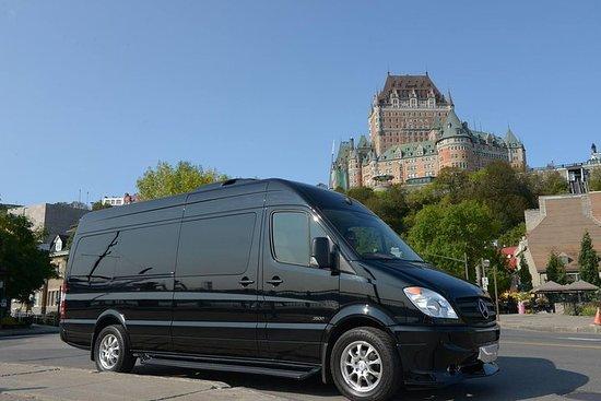 Oppdag Quebec med en privat tur på 8 timer (1 til 9 passasjerer)