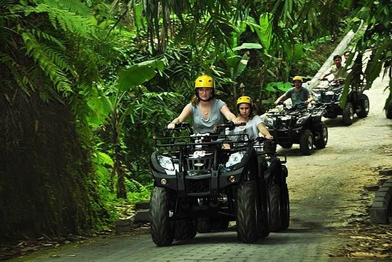 Bali Quad Bike with Shopping Tour