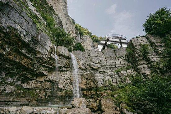 Okatse Canyon - Cachoeira Kinchkha...