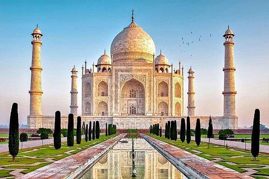 Visite d'Agra le même jour en train