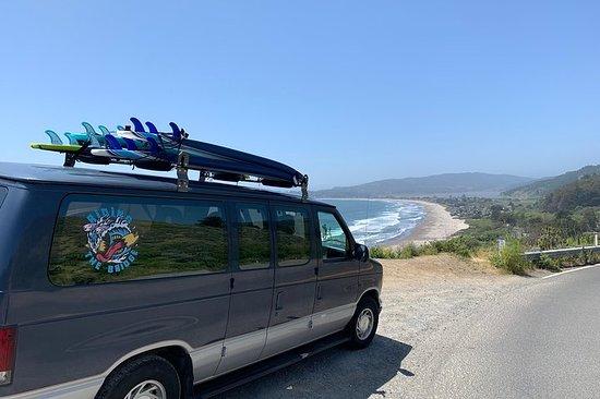 SURF TRIP IN SAN FRANCISCO Stinson Beach - Bolinas // // RIDING THE...