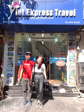 We are so happy to meet Ms. Peeraya Cholvimol to come to Viet Express Travel. It's an amazing trip in Sapa with you from 6th December to 9th December. Hope to meet you again in Viet Express Travel office.