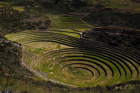 Moray Terraces und Maras Salt Pools ...