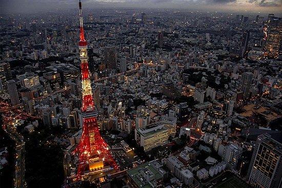 35 minutes】 Visite en hélicoptère des lumières de la ville de Tokyo 3