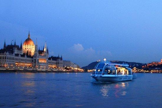 Budapest Danube River Evening...