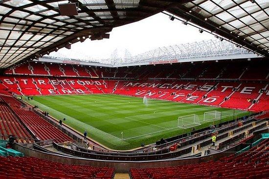 Partita di calcio del Manchester United all'Old Trafford