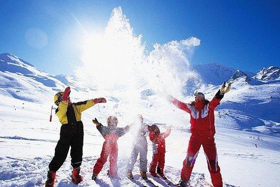 Viagem de atividade à neve em Bakuriani...