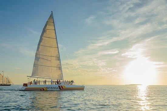 Key West - Sekt und Häppchen...