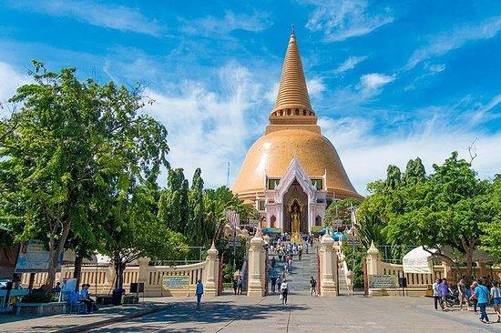 Nakhon Pathom City Tour fra Bangkok inkludert Sanam Chandra Palace