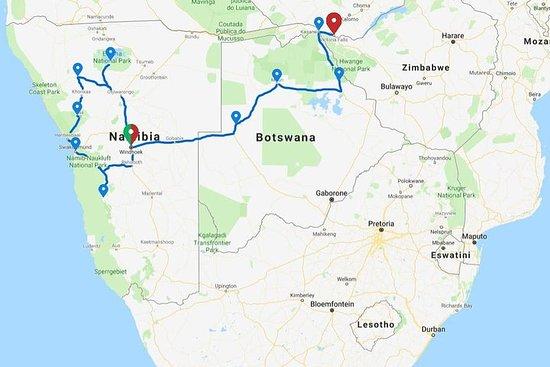 17 Tage Namibia, Okavango Delta...
