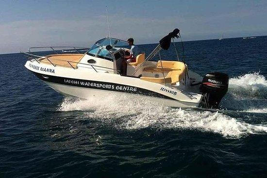 250HP Self-Drive Speedboat Rental en...