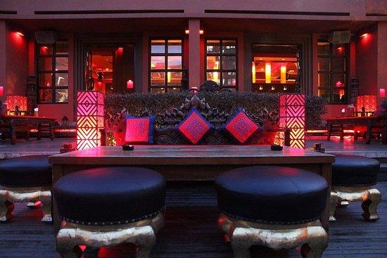 上海豪華晚餐和夜生活體驗包括失落的天堂和酒吧胭脂
