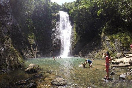 Erleben Sie den riesigen Wasserfall...