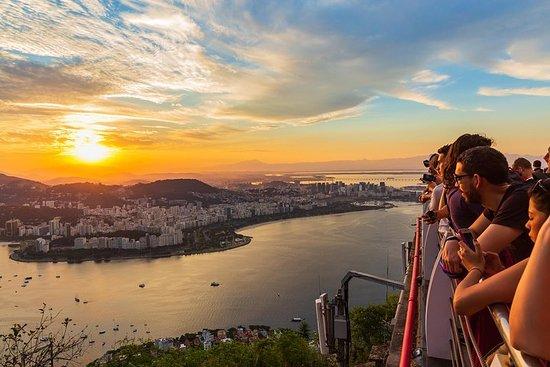 Excursion au coucher du soleil à Rio...
