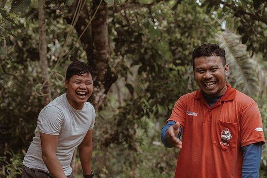 Temuan Village Trail med innfødte guider