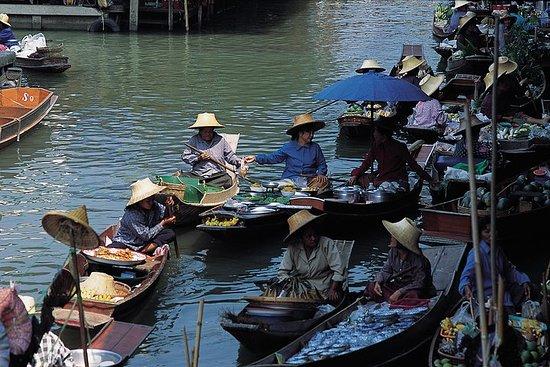 曼谷水上市場和Pathom有機農場全日遊