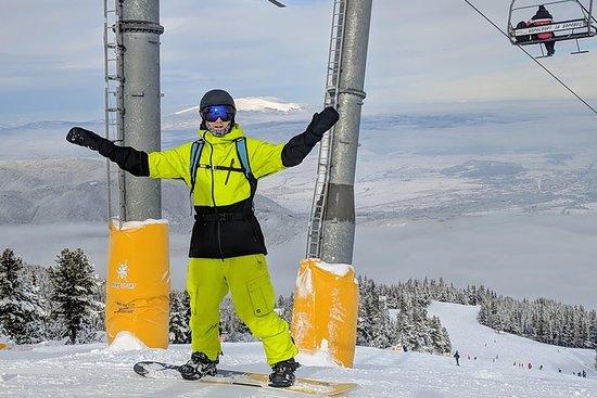 La journée de ski et de snowboard de...