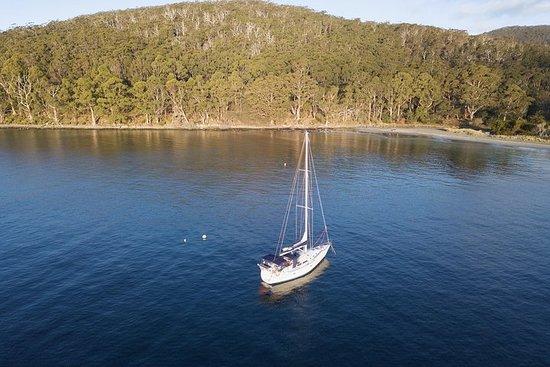 Twilight Sail Bruny Island