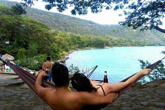 Passe do dia em Laguna de Apoyo e...