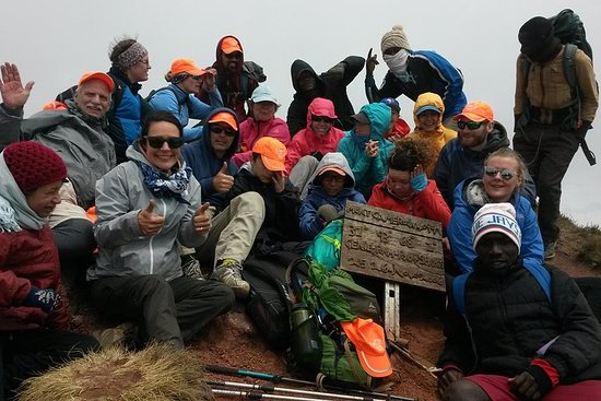 Mount Cameroon Trekking Tour (Summit-Craters)