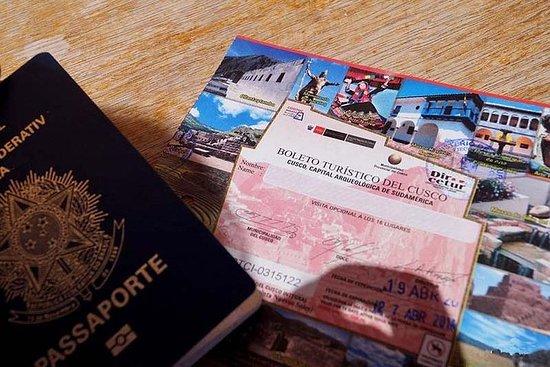 クスコの観光チケット