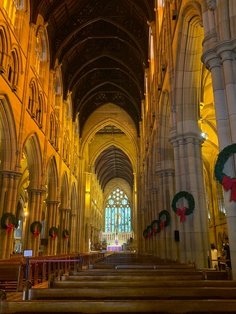 Interior of main portion of the cathedral