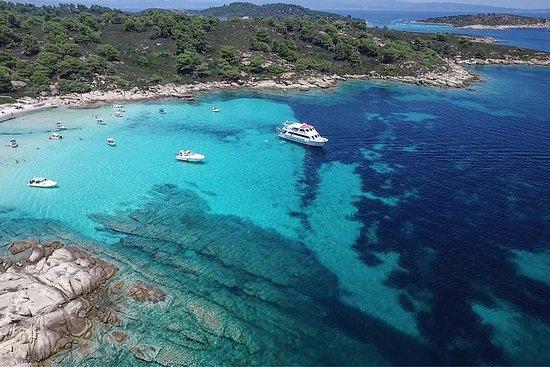 Blue Lagoon-Sithonia Luxury Cruise fra Ouranoupolis