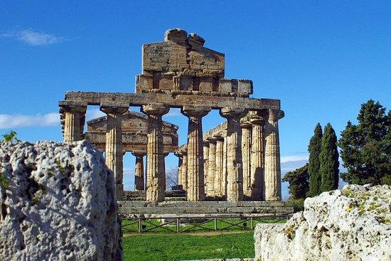 Paestum & Buffalo Farm - Departure from...