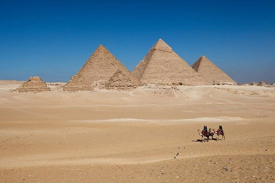 Giza Pyramids, Sphinx and Egyptian...