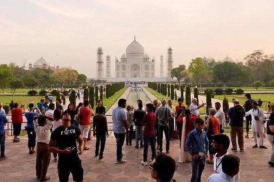 Excursion le même jour à Agra au départ...