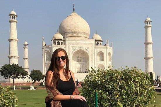 同日阿格拉从德里乘坐超级快车