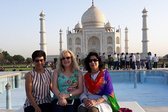 Private Full-Day Tour by Train to Taj...