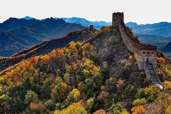 Grande muraille de Jinshanling et ville...