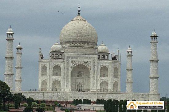 Tour de Gurgaon à Agra Taj Mahal au...
