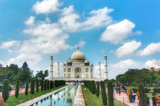 Taj Mahal et Agra en train express