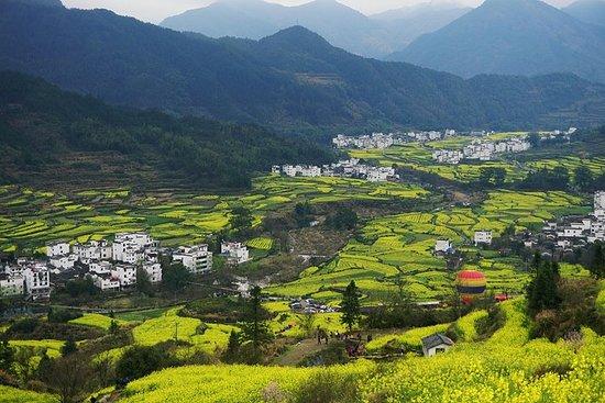 搭乘列車從上海出發的源風景區私人旅遊