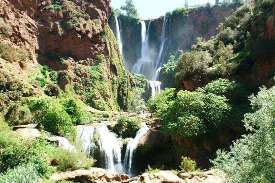 Ouzoud fosser utflukt fra Marrakech