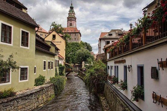 Transfert privé Prague-Salzbourg avec...