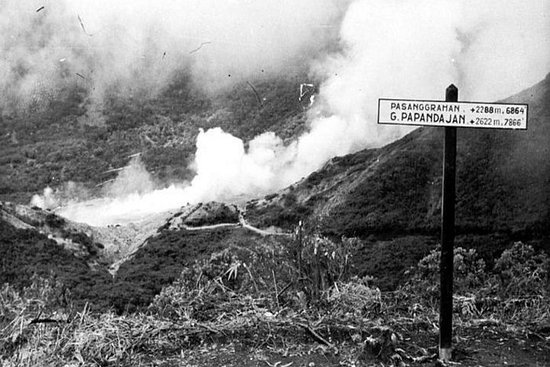 Lokal guide Papandayan Volcano (engelsk snakker flytende)