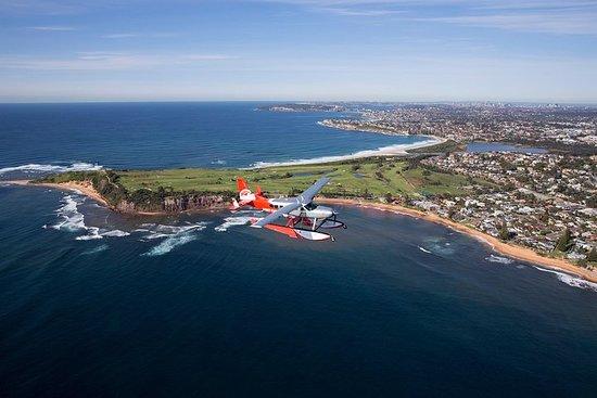 Vol panoramique en hydravion au-dessus des plages du Nord de Sydney