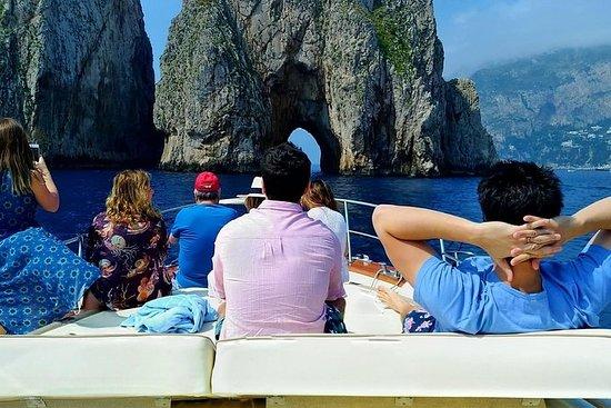 Capri-boottocht vanuit Castellammare di ...