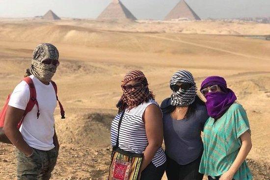 1-dages tur til Cairo fra Hurghada med...
