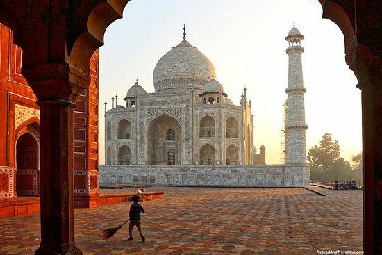 Taj Mahal et Fort d'Agra: visite privée...