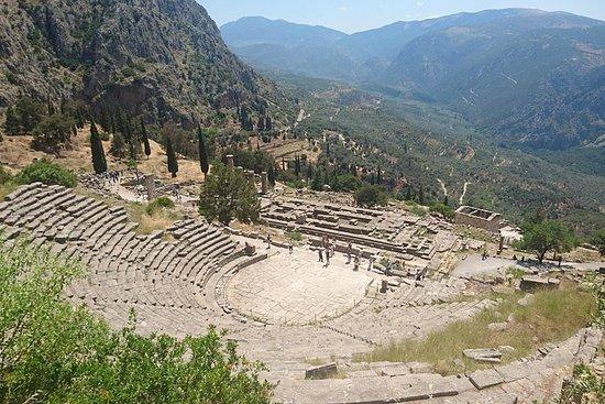 エピダウロス、ミケーネ、ナフプリオ、オリンピア、デルフィを巡る3日間の古代ギ…