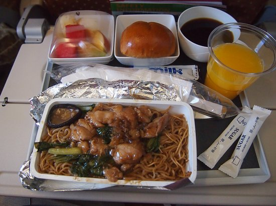 Singapore Airlines: Food from Singapore to Hanoi
