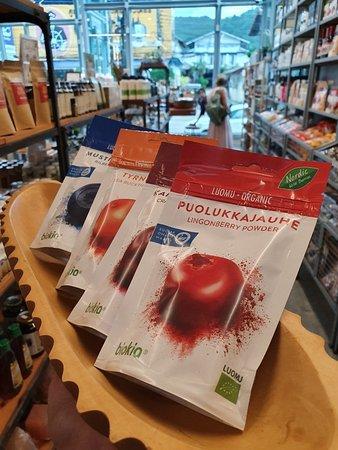 Organic berry powder