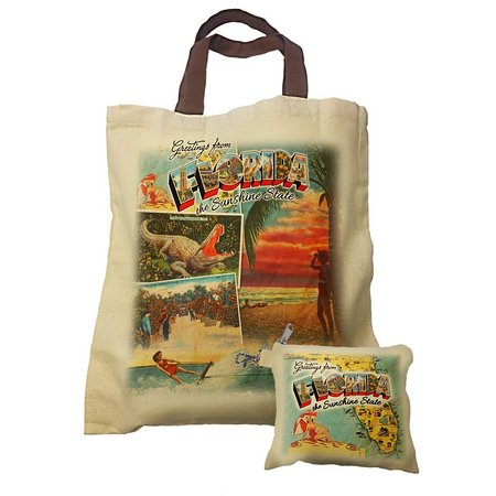 Bag in a bag - Greetings from Florida Collection