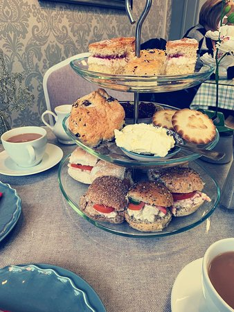 Afternoon tea for Christmas