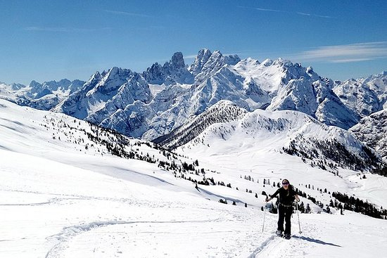 Dolomites Snowshoe Tour - One day private excursion nearby Cortina