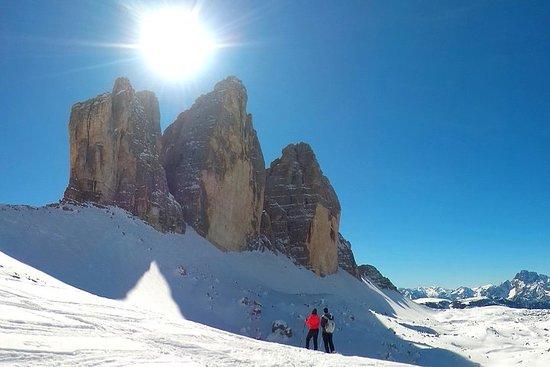 Dolomites Snowshoe Tour - Eendaagse privéexcursie in de buurt ...